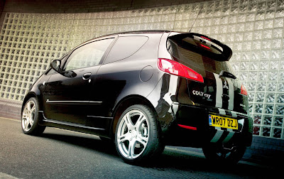 Mitsubishi Colt CZT Black Hawk for UK