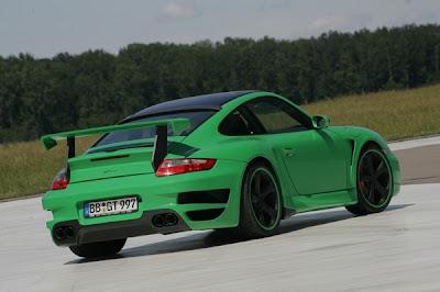 TechArt GTstreet Based on Porsche 911 Turbo