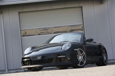9ff TRC 91 997 Porsche Turbo Cabrio
