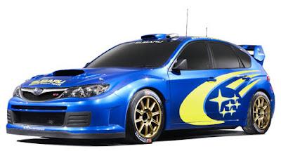 2008 Subaru WRC Concept