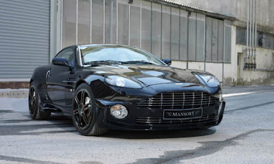 Aston Martin Vanquish S by Mansory