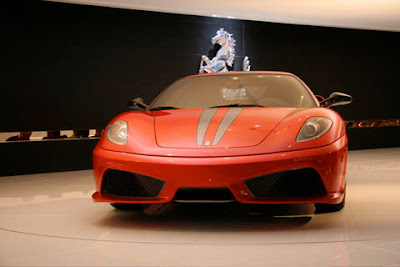 Frankfurt Auto Show: Ferrari F430 Scuderiat