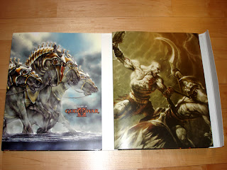 god of war limited edition artbook