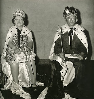 'King and Queen', copyright Diane Arbus