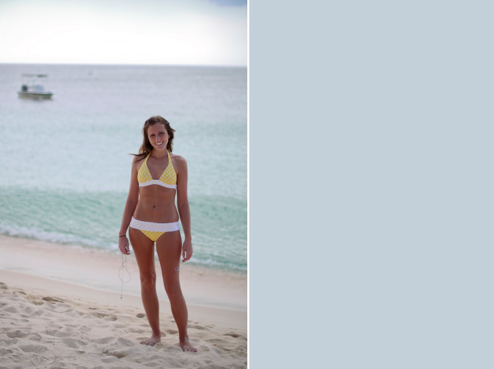 The Grand Life: Itsy Bitsy, Teeny Weeny, Yellow Polka Dot Bikini