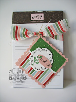 Scallop Square Die Tag