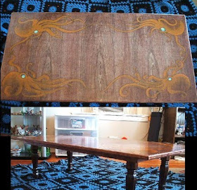 The Steampunk Home Octopus Table On Etsy