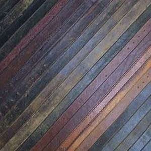 The Steampunk Home Leather Flooring