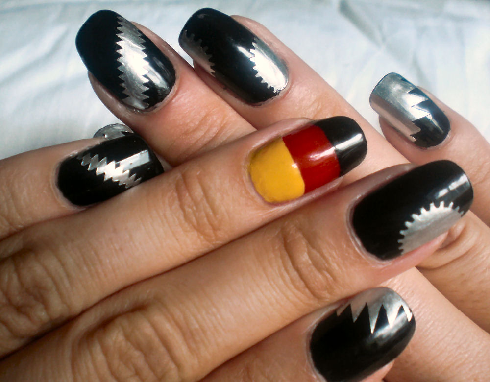 Concrete and Nail Polish: World Cup Germany vs Spain