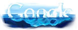 Google logo on World Earth Day