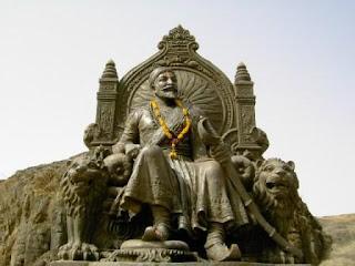 Chhatrapati Shivaji Maharaj Statue at Raigad fort