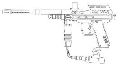 Spyder Paintball Guns: Spyder Electra DX Users Manual