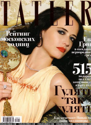 Eva Green in Tatler Magazine Cover 2009