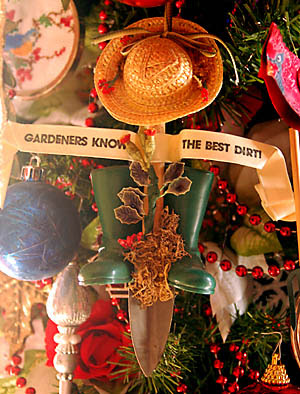 Garden themed ornaments