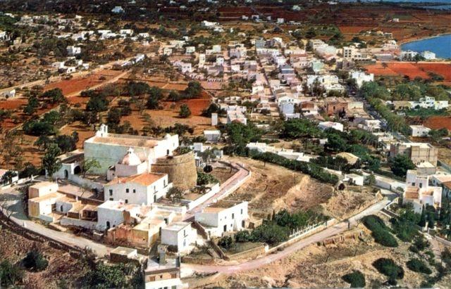 antigua vista de la zona (foto cortesía de JPE, AMQ)