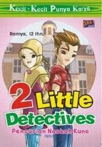 buku ramsya buku 2 little detectives pencurian naskah kuno