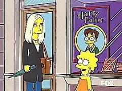 ¡¡J.K.Rowling en los Simpsons!!