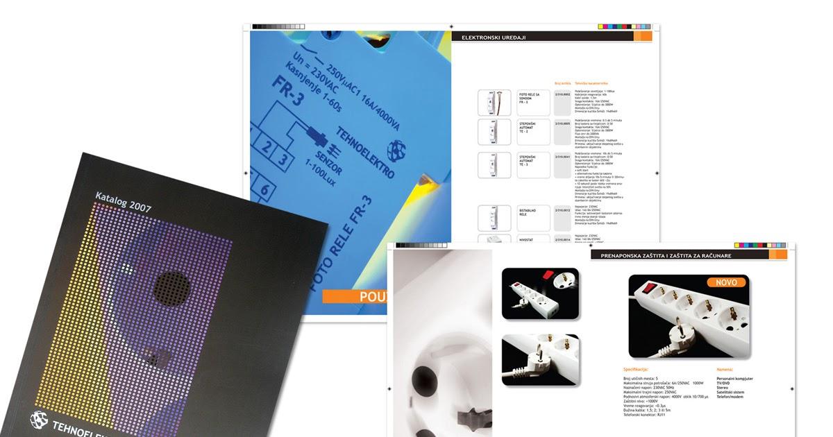 "IJ'sDESIGN: ""Tehnoelektro"" Catalogue"