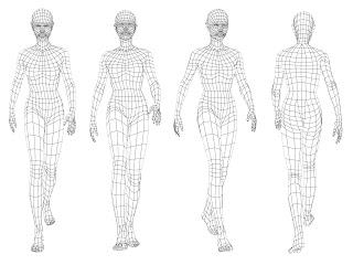The Art of David Salaiz: Generic Population Female Model