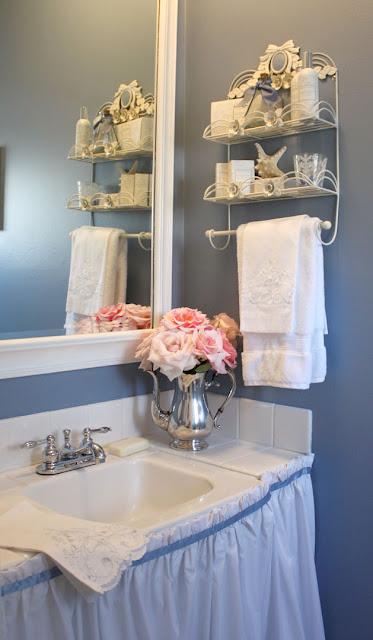 My Romantic Home A Quick Bathroom Makeover