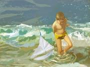 """""""Héctor en la playa de Joaquín Sorolla"""""""