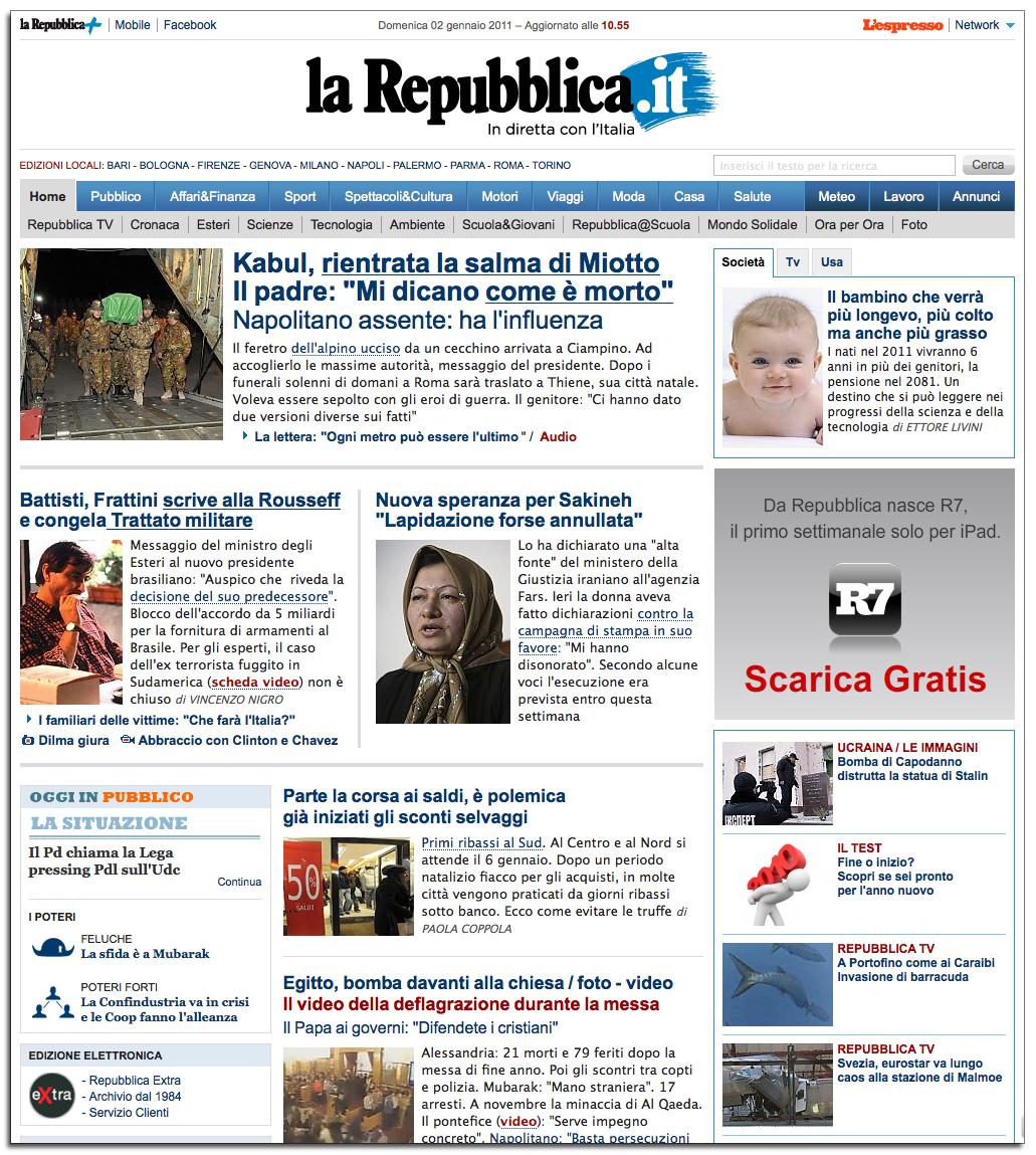 Fpblog fotografia parliamone il ritratto di sakineh for Home page repubblica