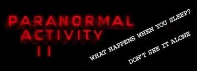 Tráiler de Paranormal Activity 2
