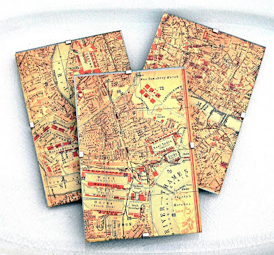 Ruby Murrays Musings Ways with Vintage Maps - Print your Own!