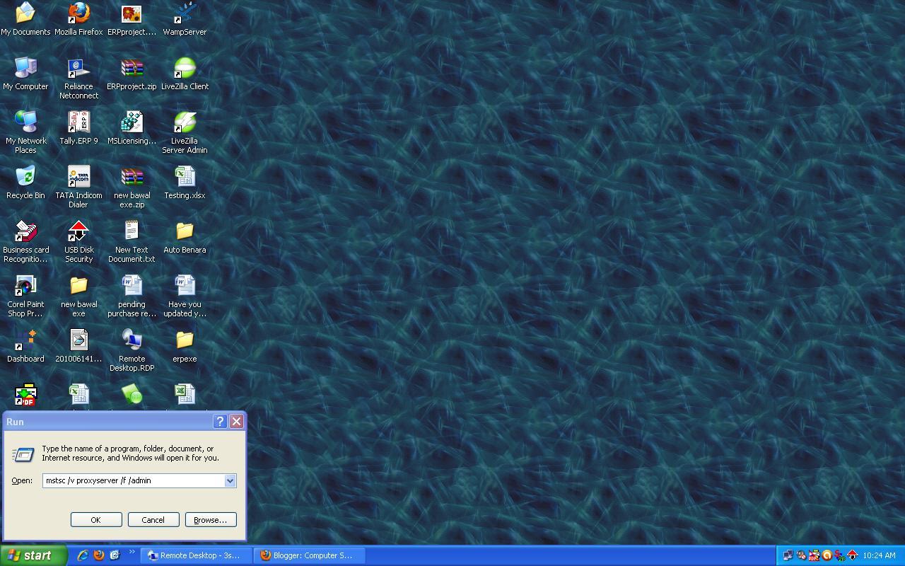 Remote desktop terminal server logon error   Tally Solutions