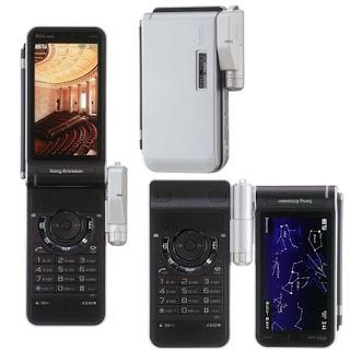 Sony ericsson W44S TV mobile