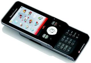 Sony ericsson W910i smart music phone