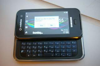 Samsung F700 smart touchphone