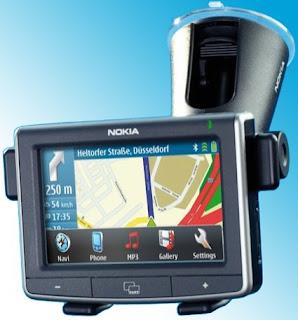 nokia  N500 portable navigation device