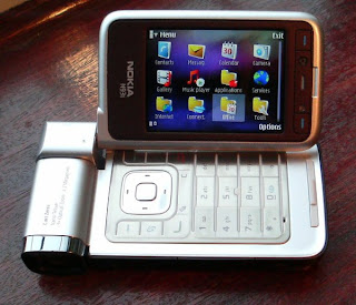 Nokia N93i  attractive flap-design phone