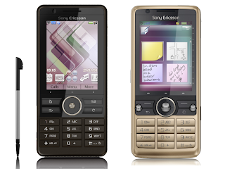 Sony Ericsson G900i has touchscreen
