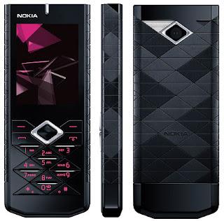 Nokia 7900 Prism smart mobile design