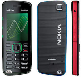 Nokia 5220 XpressMusic phone - a stylish one