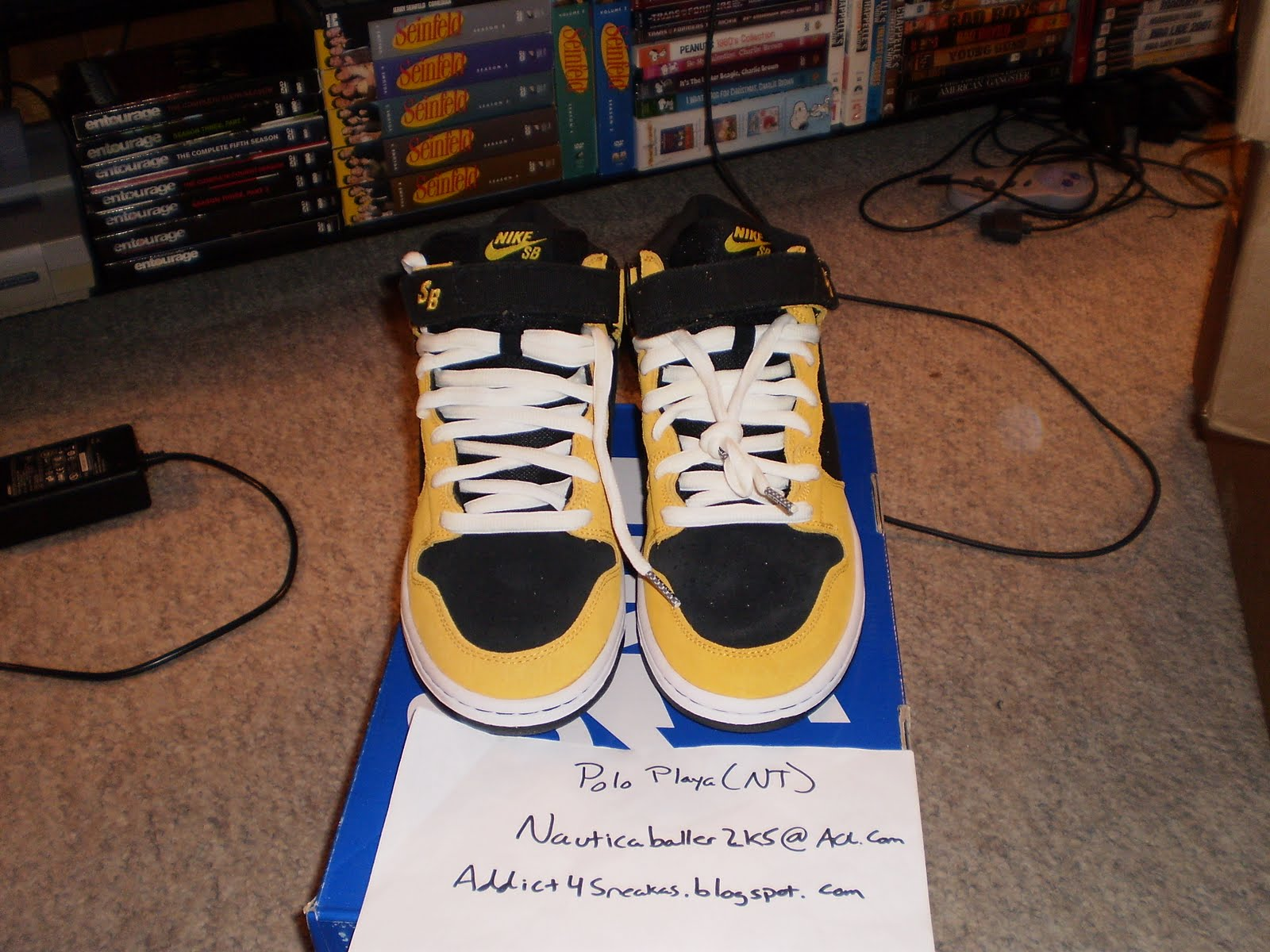 new style 8af54 462bc ... ebay ds nike dunk mid pro sb wu tang sz 10.5 95.00 as gift on paypal