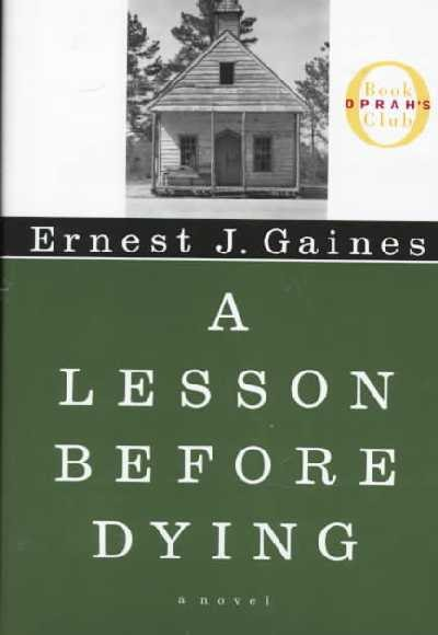 a lesson before dying book review A lesson before dying is a book about a i originally picked this book up because i read the first chapter on an online review page and on this website you are.