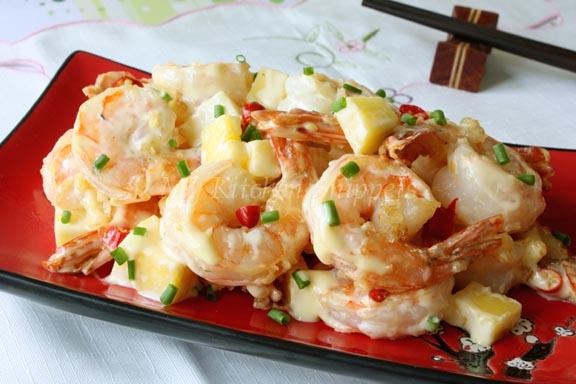 Wasabi Mayo Shrimps My Kitchen Snippets