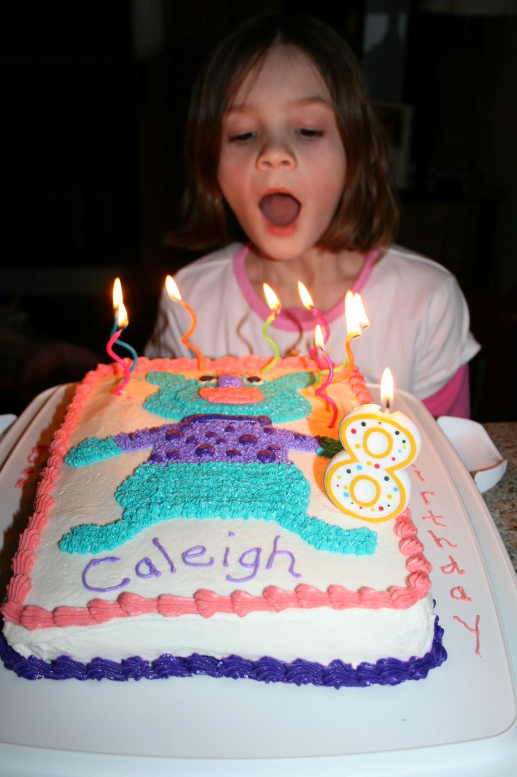 Adventures in Homeschooling: Caleigh's 8th Birthday (1064 x 1600 Pixel)