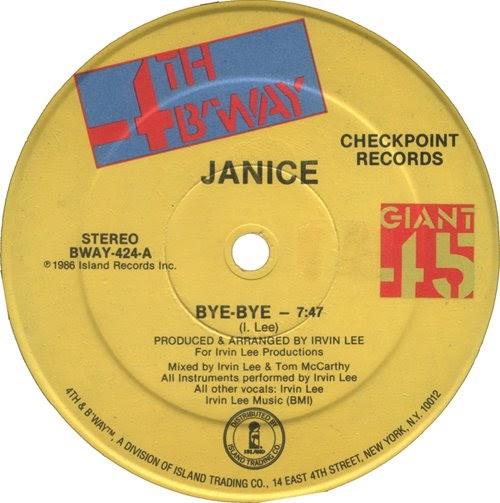 Janice - Bye Bye
