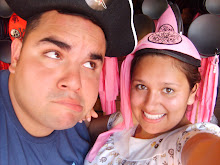DisneyWorld...I want to be a princess and of course Ruben wants to be a pirate...