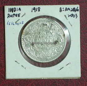 Buy Gold Coin Online: one rupee British India King George V