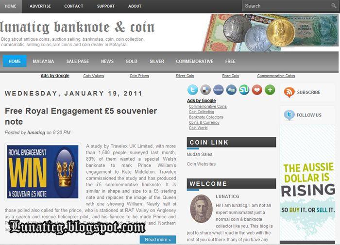 Year 2011 New Coin Template | Lunaticg Coin