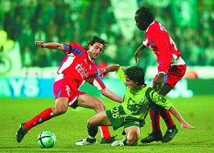 João Moutinho, na sua estreia pelo Sporting, a 23 de Janeiro de 2005