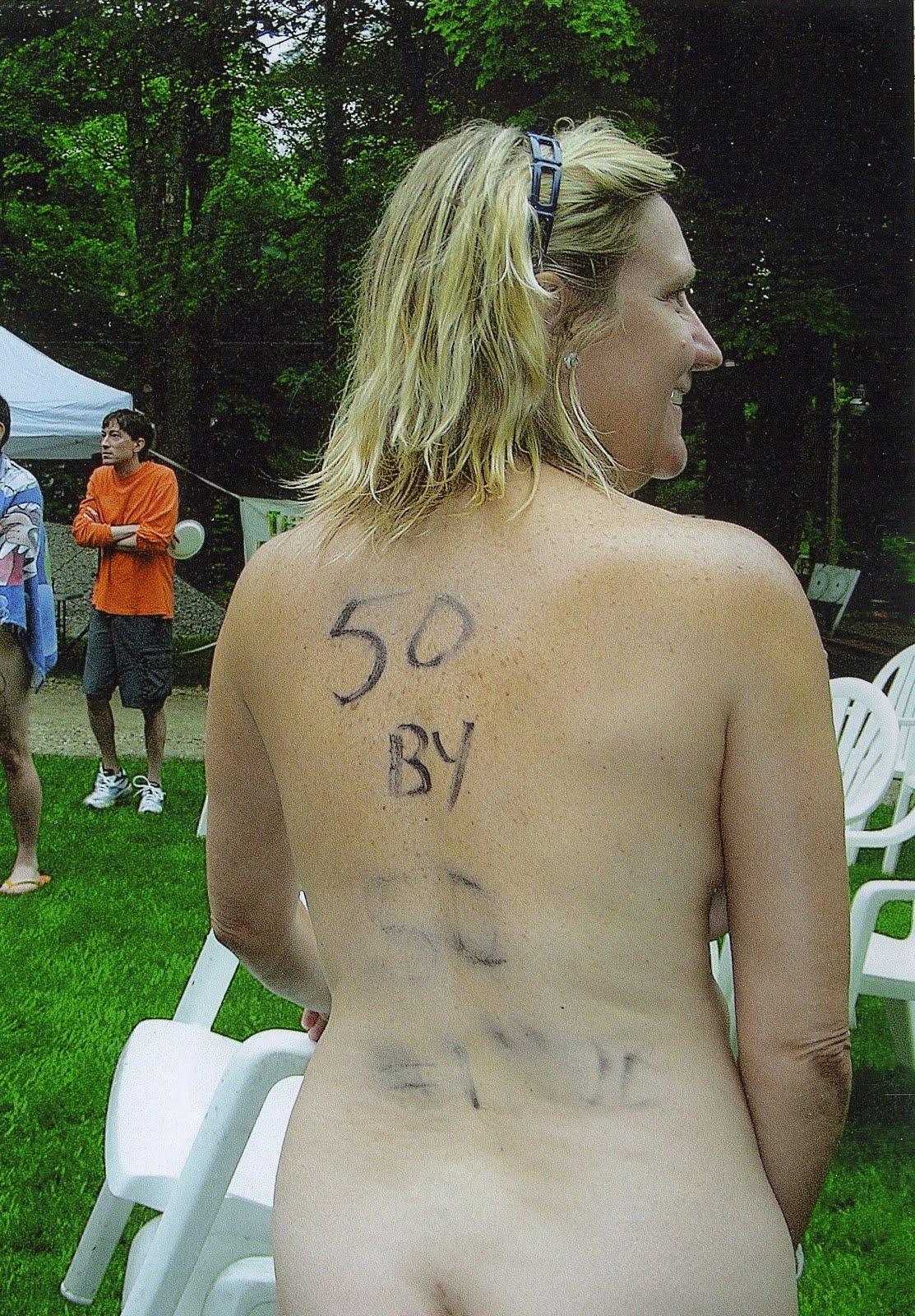 Nudist 5k run races
