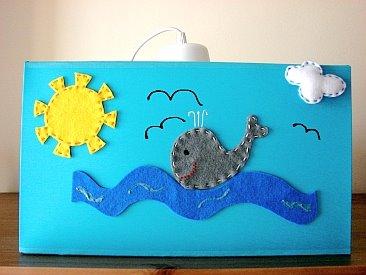 Candeeiro Barco/Baleias