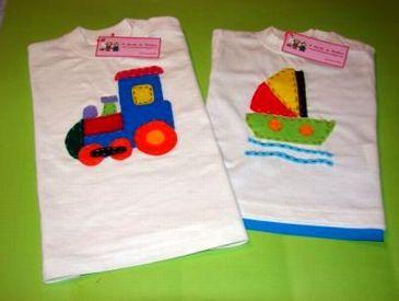 T-shirt Comboio / Barco