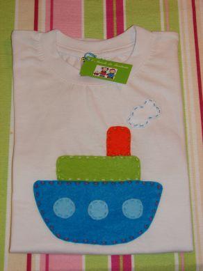 T- Shirt Barquinho